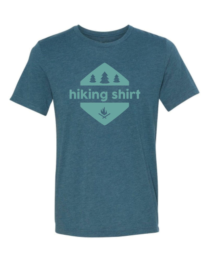Hiking Shirt Men's Tri-Blend Crew