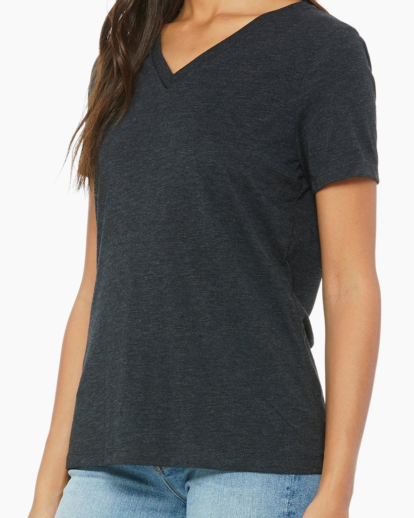 LONG RUN I Don't wanna TACO 'bout it Relaxed V-Neck