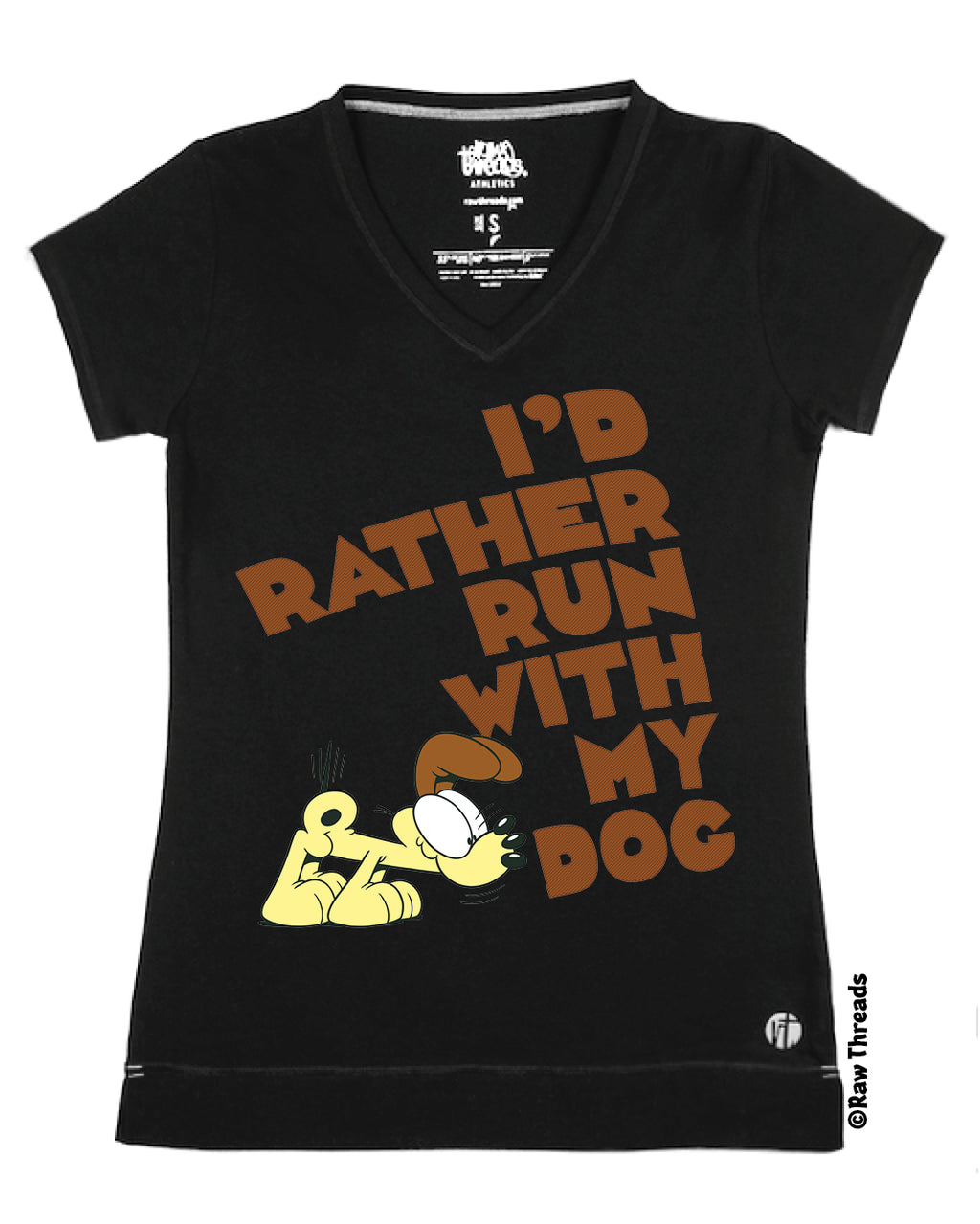 Garfield's I'd Rather Run with My Dog