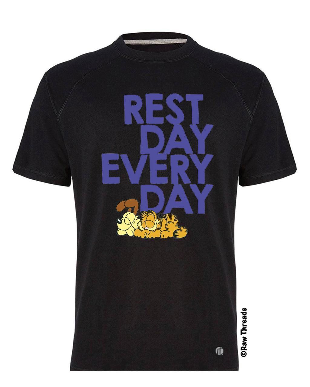 Garfield's Rest Day Every Day