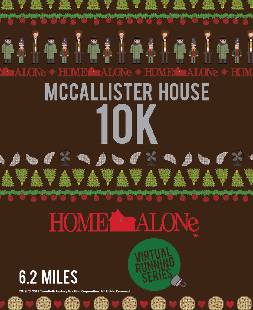 Home Alone McCallister House 10k Virtual Race-Pre-order Only Ships Nov 5, 2020