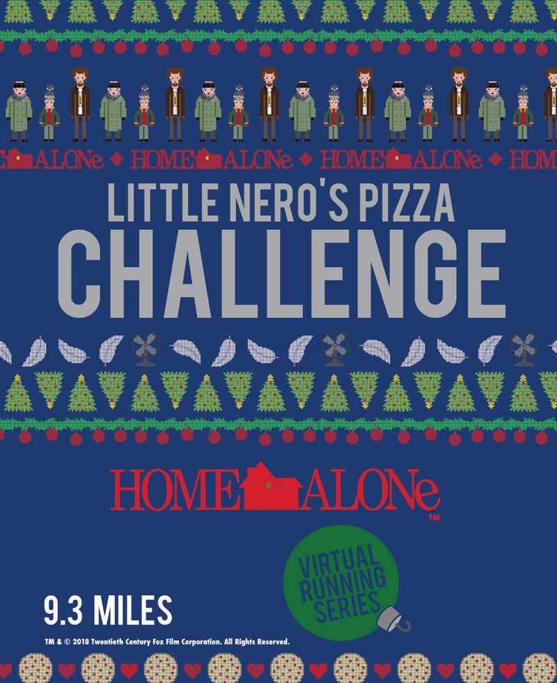 Home Alone Little Nero's Pizza Challenge 9.3 Miles