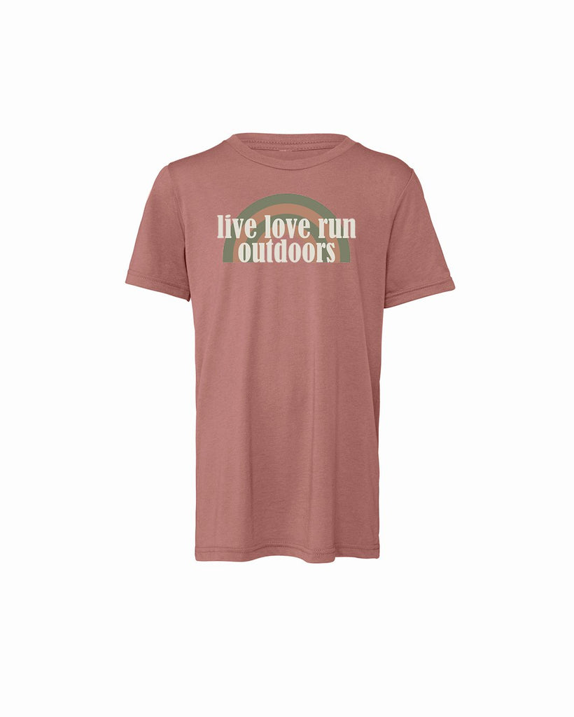 Live Love Run Outdoors Youth Short Sleeve