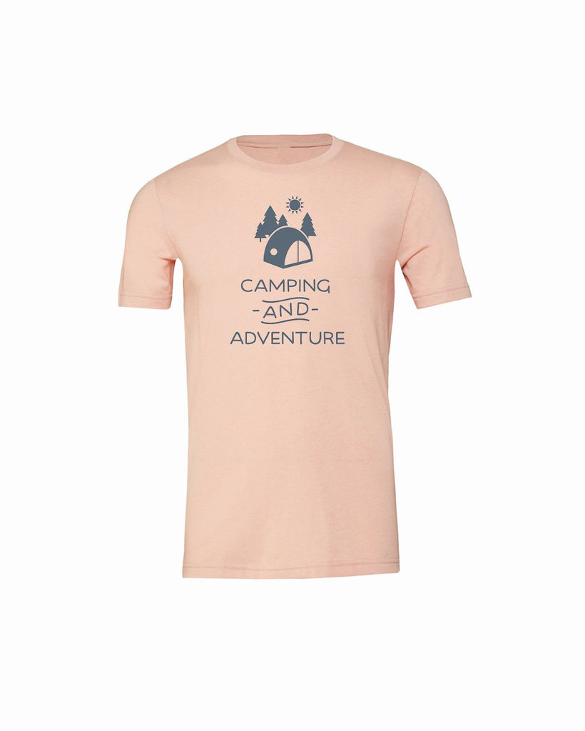 Camping and Adventure Youth Short Sleeve