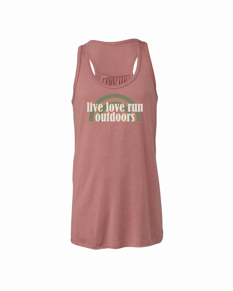 Live Love Run Outdoors Youth Flowy Racerback