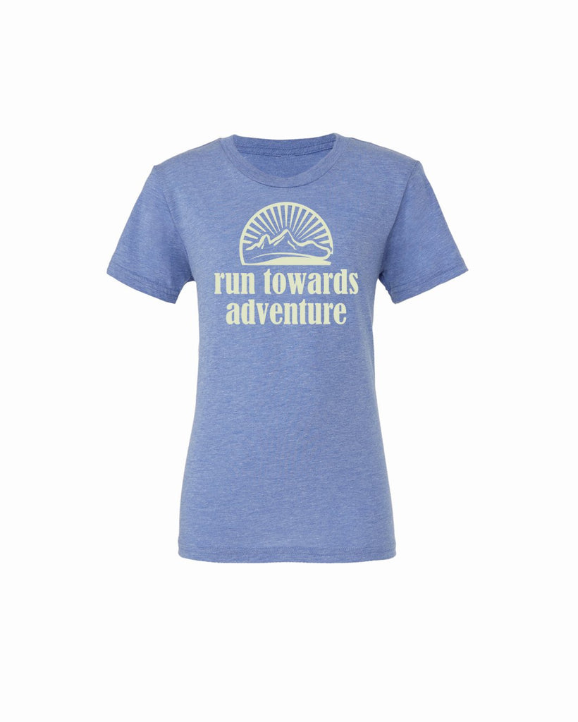 Run towards Adventure Youth Short Sleeve