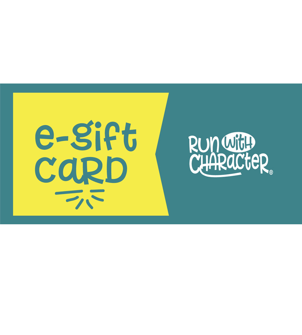 Run with Character eGift Card