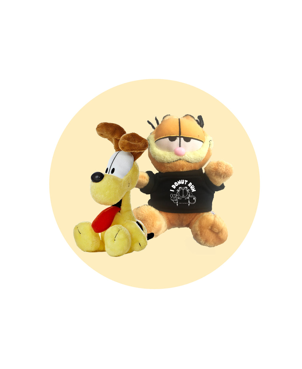 Garfield Plush with Tee plus Odie