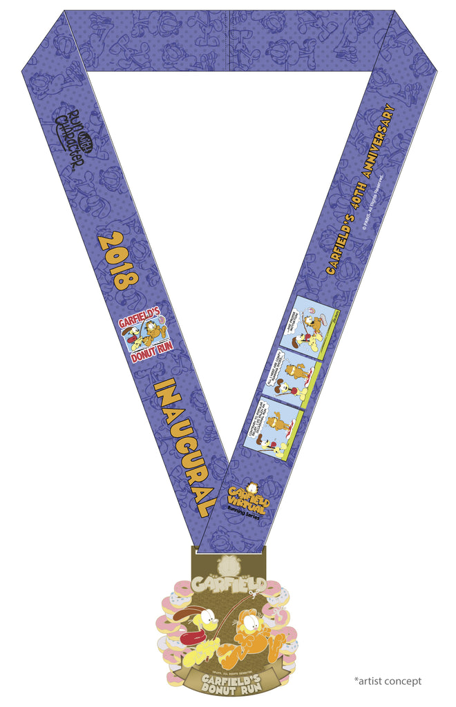 '2018' Garfield Donut Run (Medal Only)