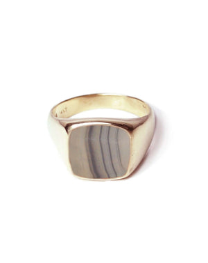 Mens gold signet ring, wedding band,  jewelry store, Greenpoint, Brooklyn NYC