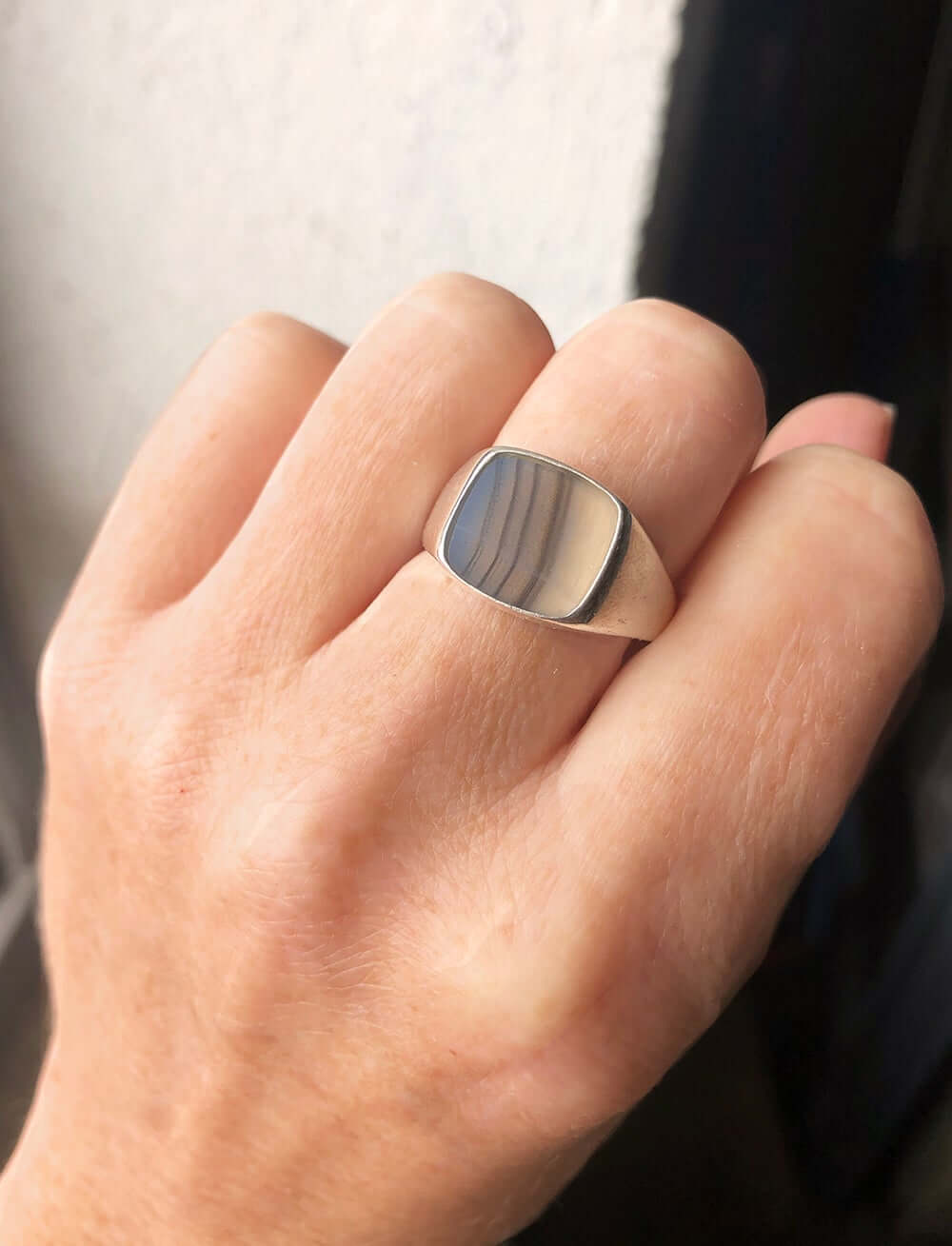 signet rings silver gold custom brooklyn Macha studio nyc