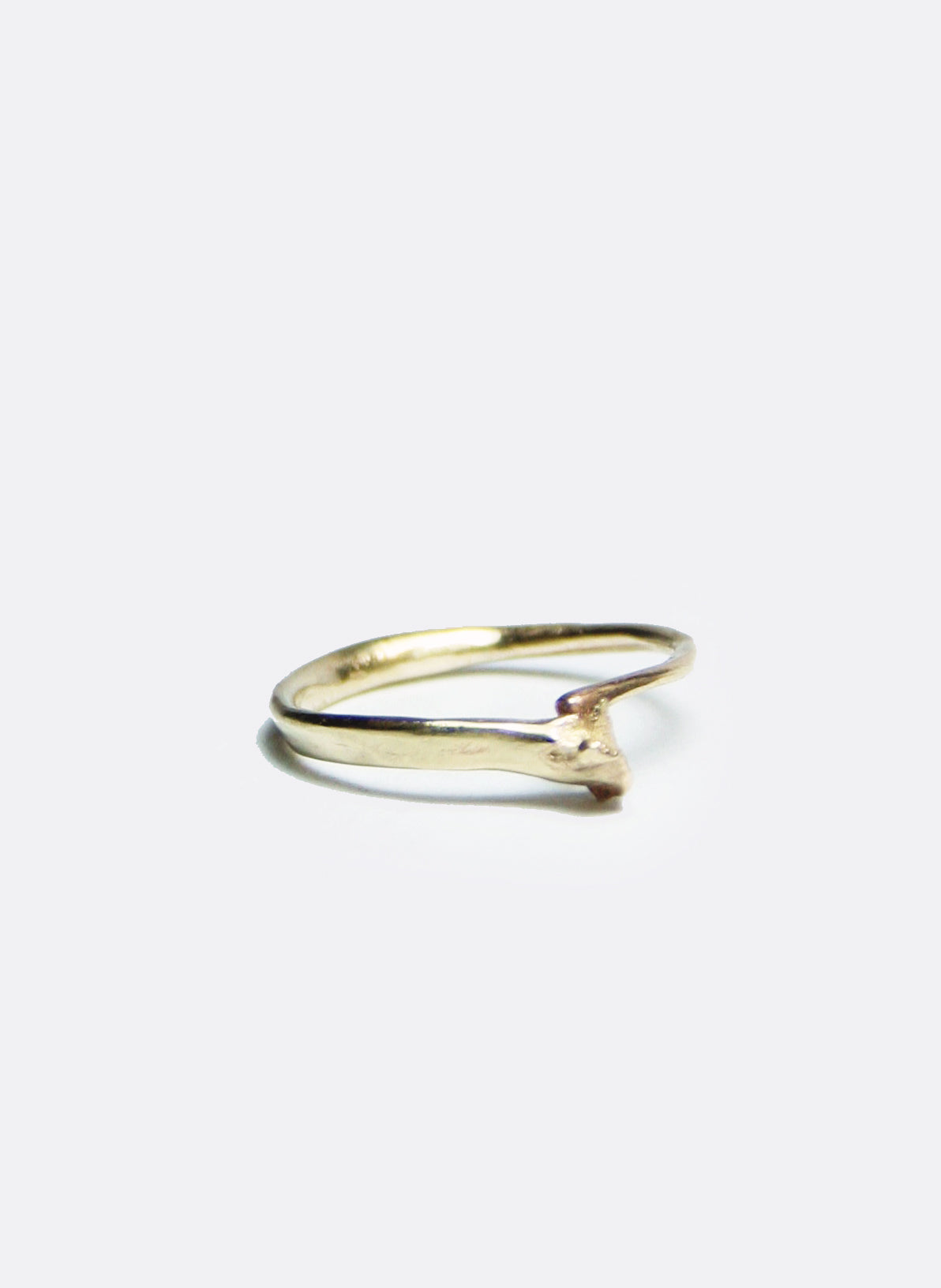 Snake Bone Ring Silver or Gold