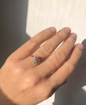 Chloe Rockwell Ring with Trillions