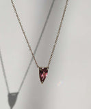 Garnet Shard Necklace