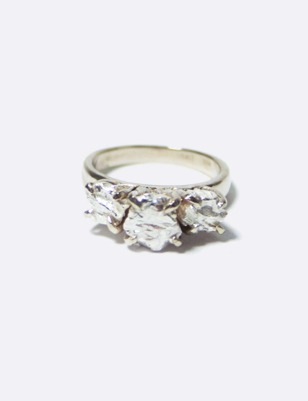 Jagger II Engagement ring Macha Studio, Brooklyn NYC