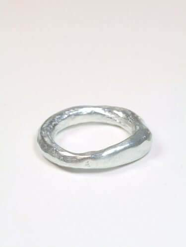 Keats Ring Silver Macha Studio, Brooklyn NYC