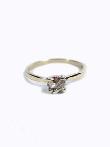 Chrissie Rockwell Ring 14K Gold, Engagement/Wedding, Macha Studio, Brooklyn NYC
