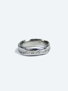Molten Wedding Band Platinum