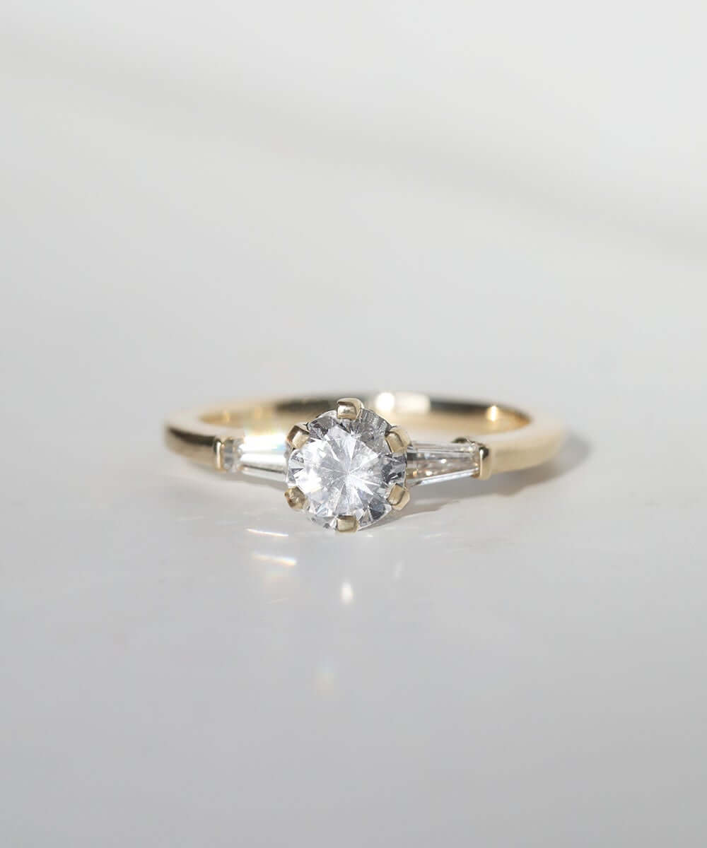 MachaStudio in Greenpoint, Brooklyn, New York specializing in unique handcrafted wedding bands, custom engagement rings, alternative designer jewelry, white diamond