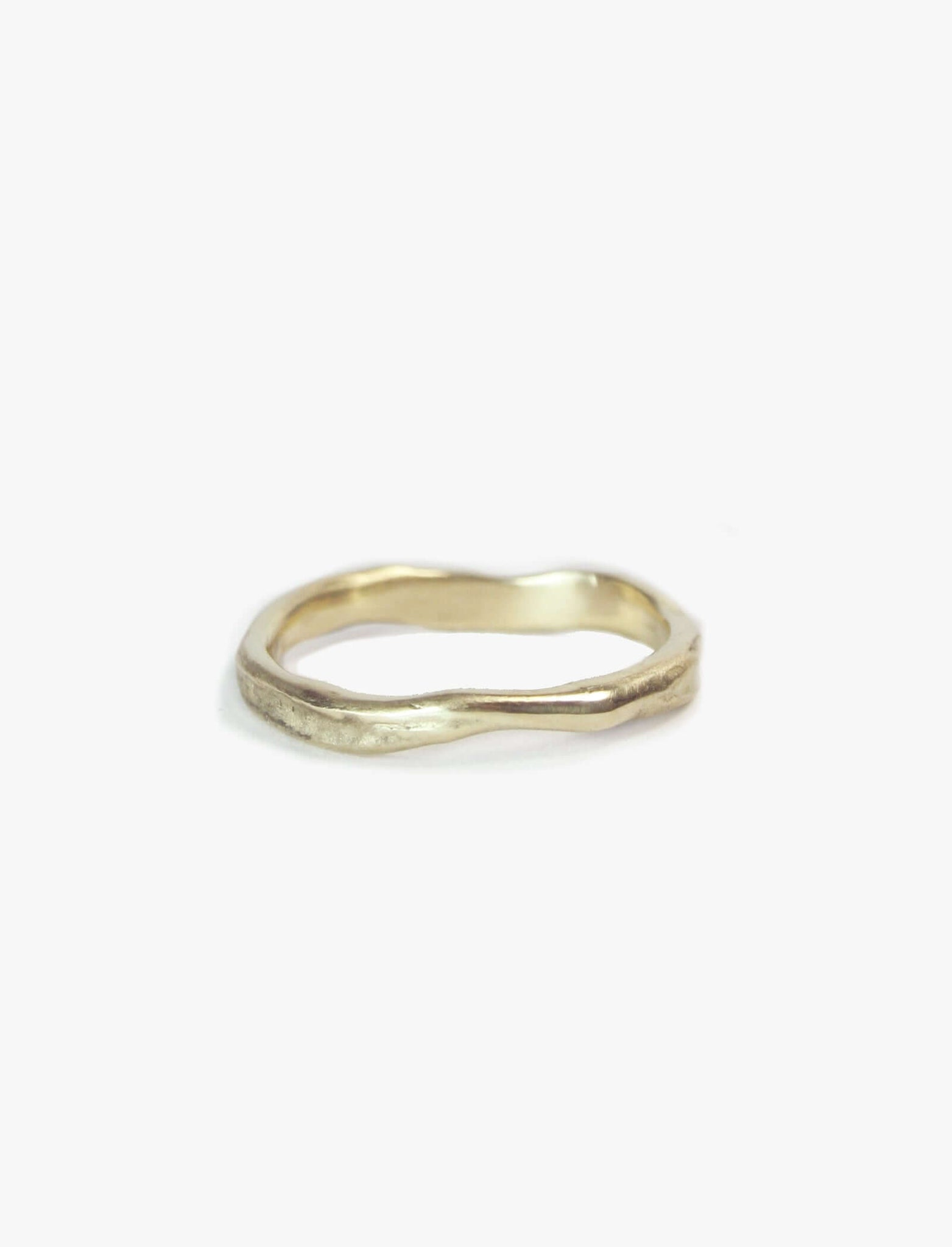 Molten Band 14K Gold Engagement/Wedding Macha Studio, Brooklyn NYC