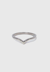 V-Shaped Wedding Band