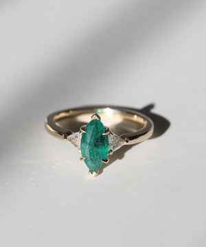 MachaStudio in Greenpoint, Brooklyn, New York specializing in unique handcrafted wedding bands, custom engagement rings, alternative designer jewelry, emerald and diamond