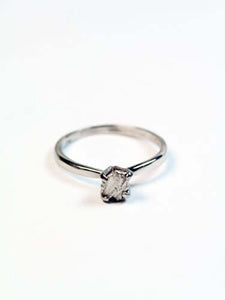 Chrissie Rockwell Ring in Platinum, Engagement/Wedding, Macha Studio, Brooklyn NYC