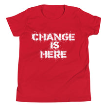 BE THE CHANGE! Youth Short Sleeve T-Shirt