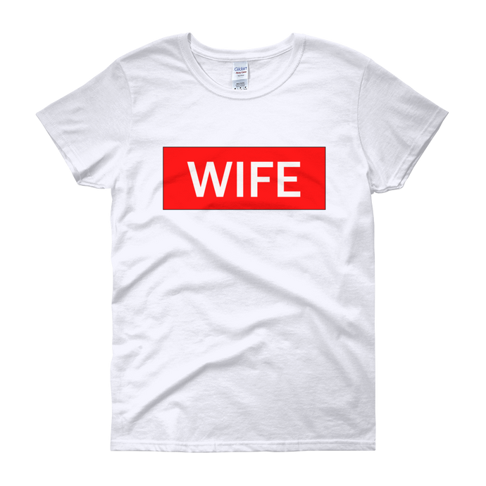 Wife LIFE Women's short sleeve t-shirt
