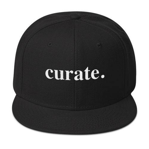 LIMITED EDITION Curator Snapback Hat