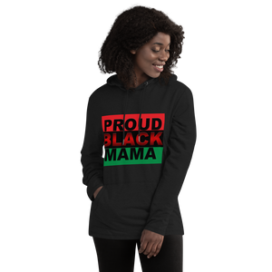 """Proud Black Mama!"" Women's Lightweight Hoodie"