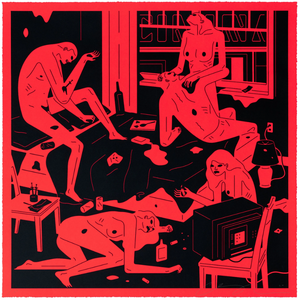 Cleon Peterson - Park Ave Red 2020