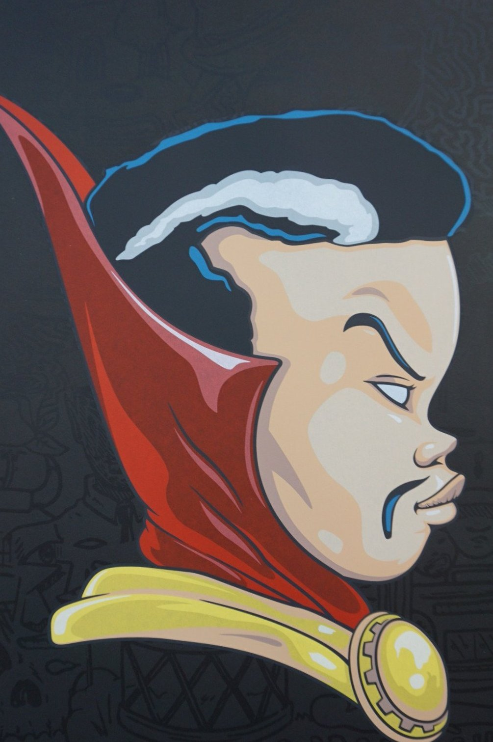 Hebru Brantley - Dr Strange (Papa Midnight) 2016