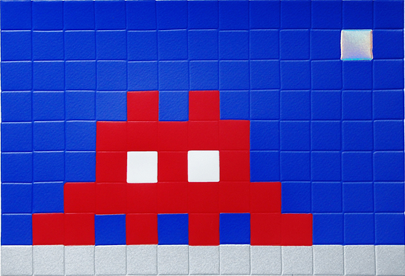 Invader - Home Moon 2010