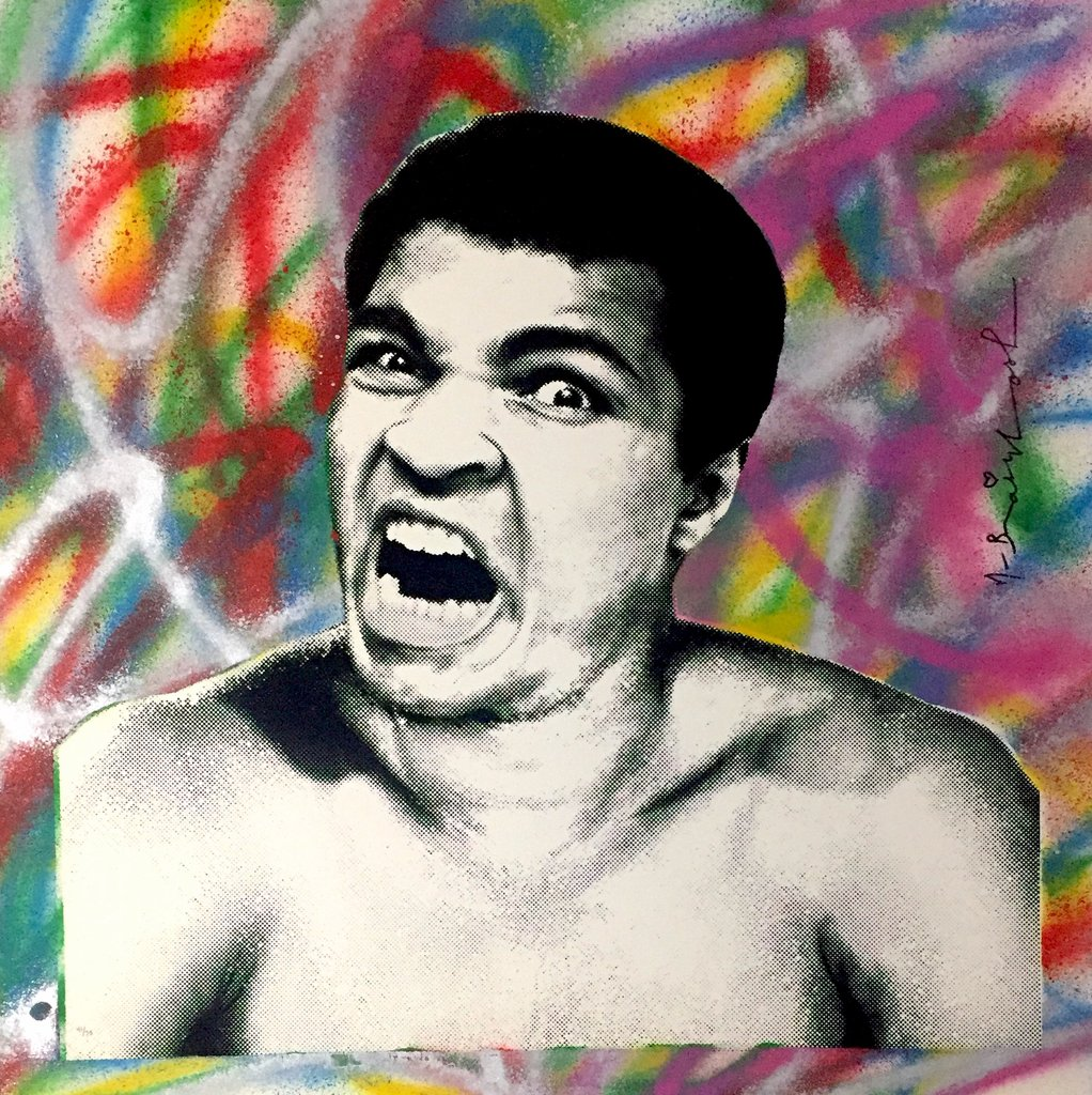 Mr. Brainwash - Legendary Ali 2017