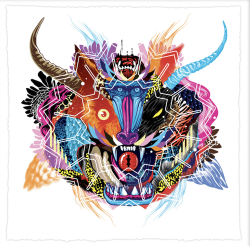 Battle Cry - Tristan Eaton 2015