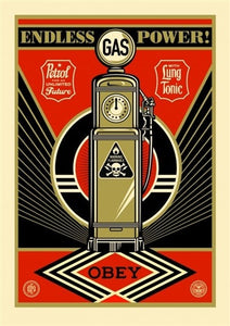 Shepard Fairey - Endless Power Provocateurs 2014 24x36 X/200