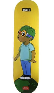 Hebru Brantley - 2019 Skate Board BAIT Deck Yellow
