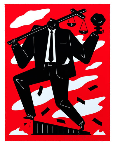 Cleon Peterson - Useless Idiot Red 2019