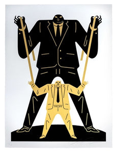 Cleon Peterson - Little Big Man Putin Trump 2018