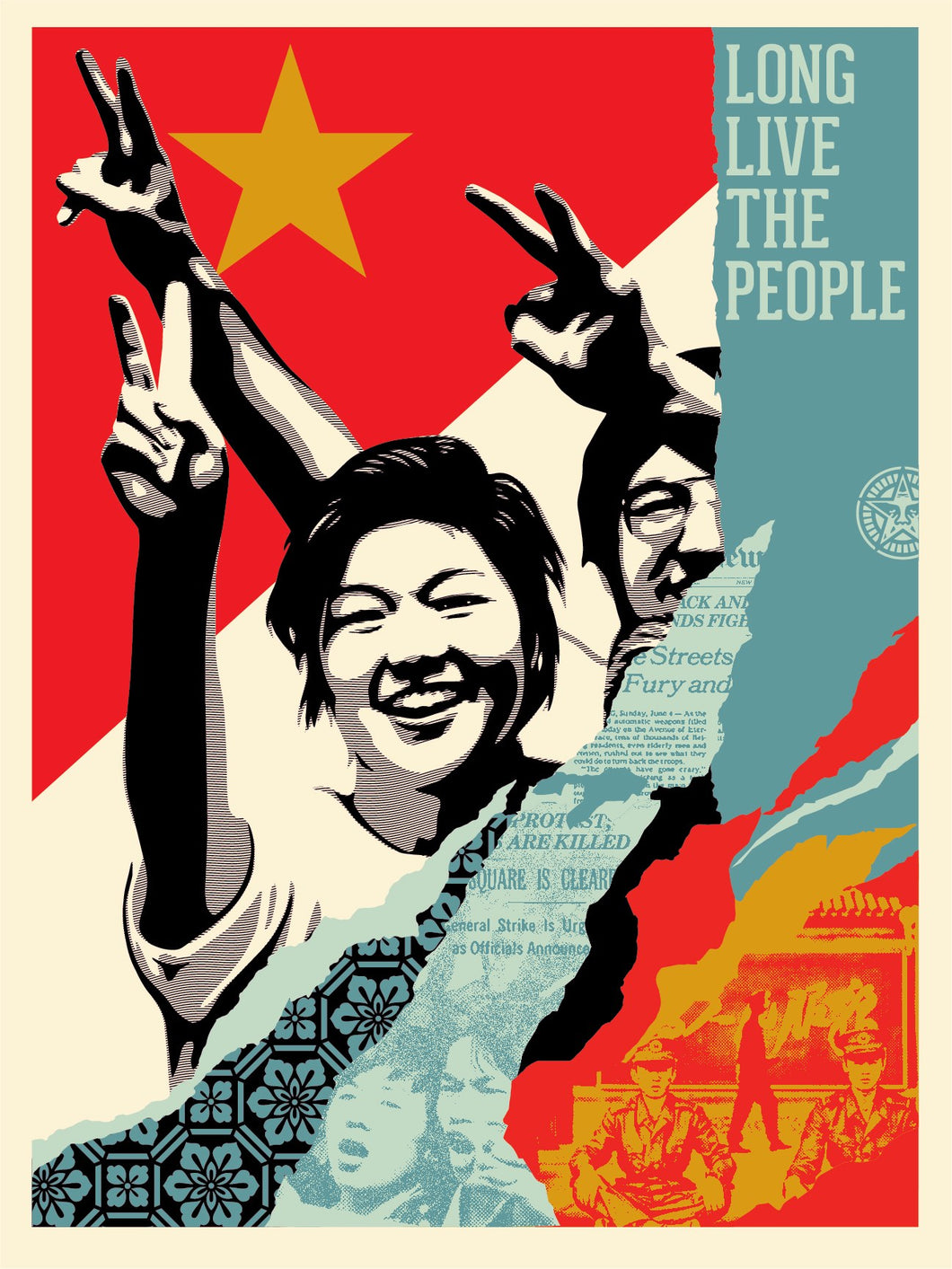 Shepard Fairey - 2020 Long Live the People
