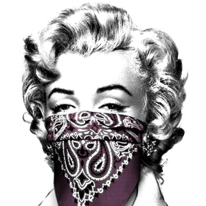 Mr. Brainwash - Stay Safe 2020 Marilyn Monroe (Pink)
