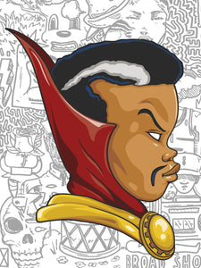 Hebru Brantley - Dr Strange 2016