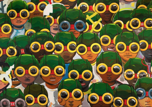 Hebru Brantley - Suspects 2018 (signed/numbered version)
