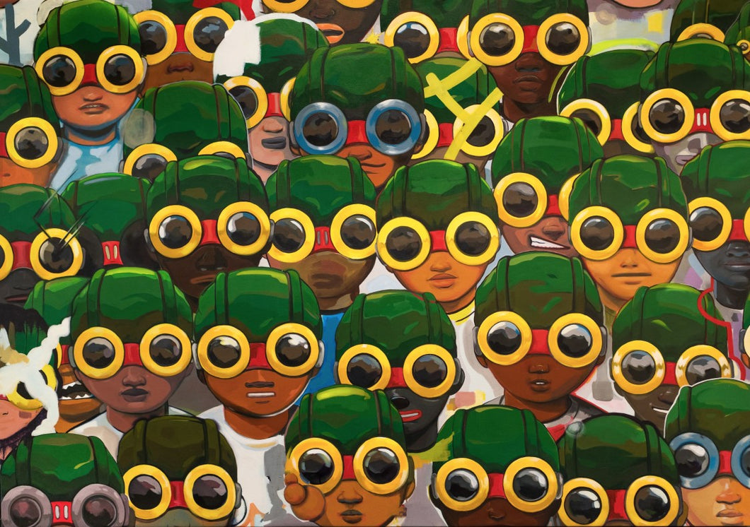 Hebru Brantley - Suspects 2018 (signed version)