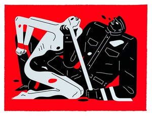 Cleon Peterson - Talk Talk Talk 2019 (Red)