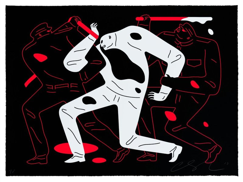 Cleon Peterson - The Disappeared Black 2018