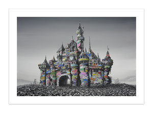 Roamcouch and Jeff Gillette - Castle Ruins 2021 (Banksy's Dismaland)