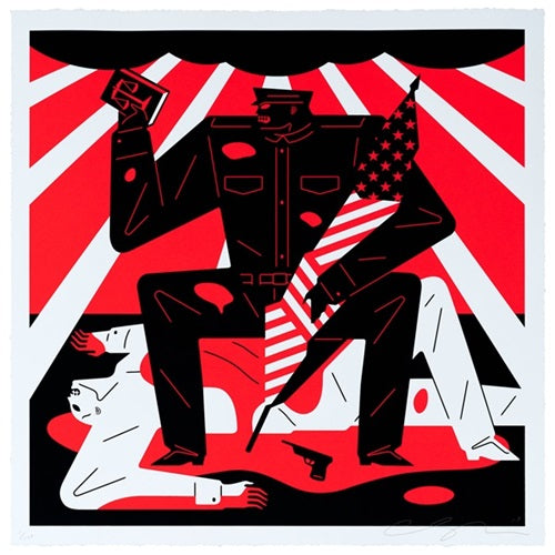 Cleon Peterson - Without Law There Is No Wrong 2019