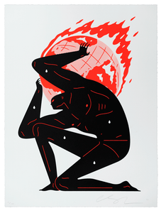Cleon Peterson - World On Fire (White) 2020